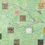 Joyce Kozloff, Cities on the Amazon, 1995