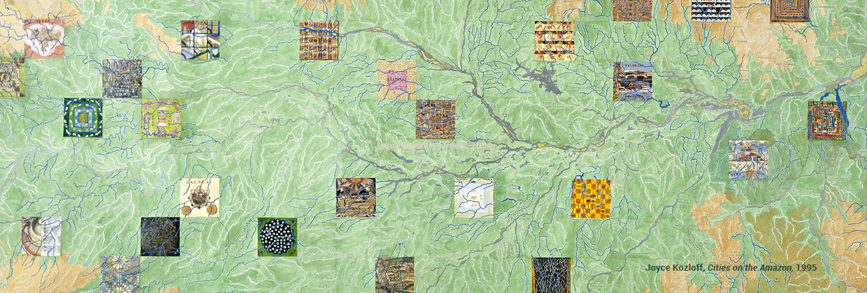 Joyce Kozloff, Cities on the Amazon, 1995