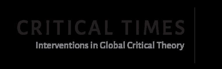 Critical Times Logo